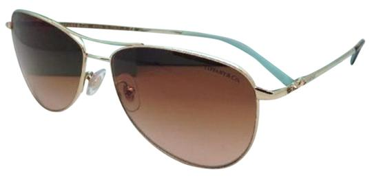 c794e54d2cde Gold brown Tiffany And Co Aviator