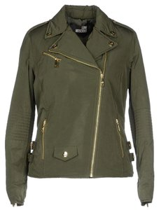 Love Moschino Motorcycle Puffer Motorcycle Jacket