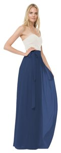 Joanna August Wrap Chiffon Skirt Tangled Up in Blue