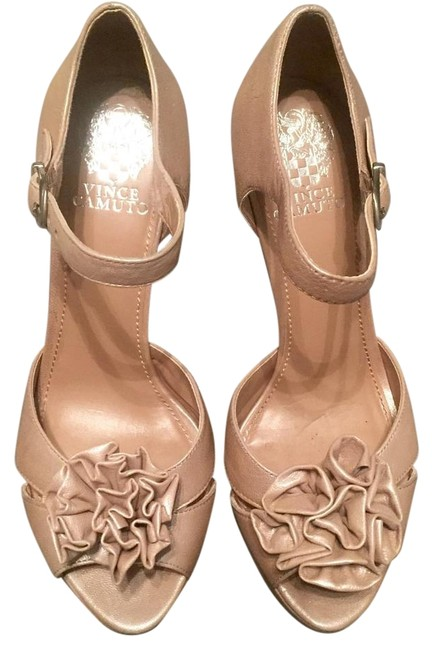Vince Camuto Champagne Pumps Size US 8 Regular (M, B) Vince Camuto Champagne Pumps Size US 8 Regular (M, B) Image 1