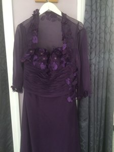 Montage By Mon Cheri Purple 211911 Dress