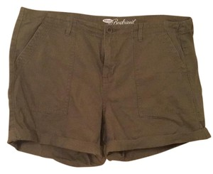 Old Navy Plus-size Canvas Cuffed Shorts Army green