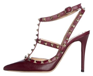 Valentino Oxblood Pumps