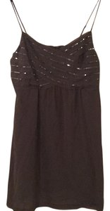 American Eagle Outfitters Sequin Empire Waist Sparkle Strappy Plus-size Dress