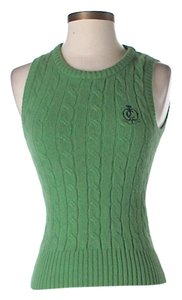 Juicy Couture Angora Merino Wool Cable Knit Sweater