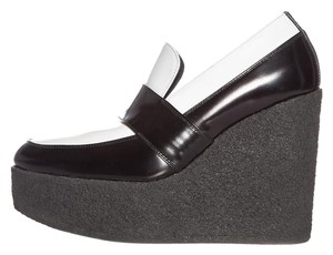 Cline Black & White Wedges