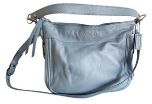 Coach Zoe Blue Hobo Bag