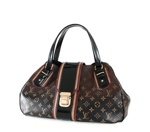 Louis Vuitton Griet Mirage Ombre Vuitton Limited Monogram Satchel in Brown