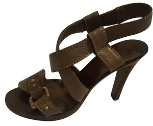 Chloé Greenish Gray Sandals