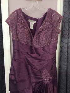 Alyce Paris Aubergine 29357 Dress