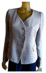 Armani Collezioni Tweed Slate/white tweed Blazer