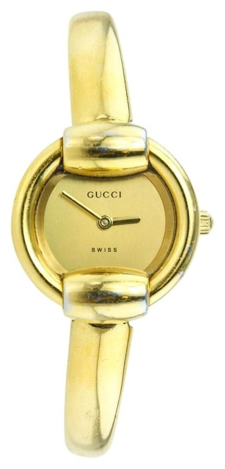 27b3fe3ccd3 Gucci   1400L Ladies Gold Tone Watch Image 0 ...