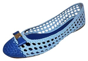Tory Burch Carlyle Chambray/Blue Nile Flats