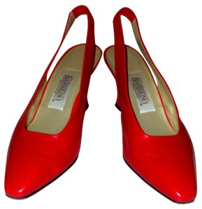 Bandolino Spanish Leather Comfortable red Pumps