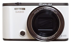 Casio Casio Exilim EX-ZR3500 Self-Portrait Compact Digital Camera White
