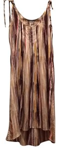 Ecote short dress Brown multi on Tradesy