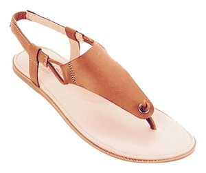 Sperry Thong Leather Strap Free Shipping Tan Sandals