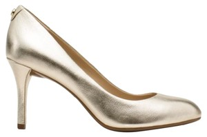 Michael Kors Metallic Tone Pale Gold Pumps