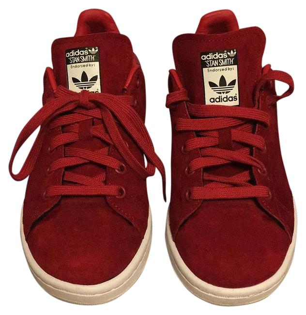 Item - Red Stan Smith Sneakers Size US 6 Regular (M, B)