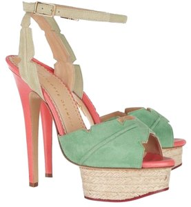 Charlotte Olympia Coral Platforms