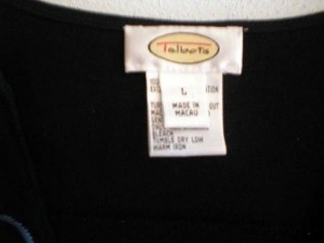 Talbots Top Navy Blue