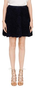 Club Monaco Work Mini Skirt Navy blue