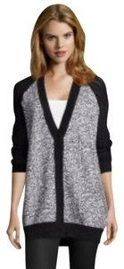 Elizabeth and James Oversized Boyfriend Knit Sweater Cardigan