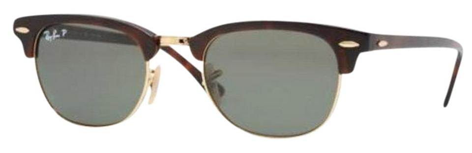 af4927fc9069a Ray-Ban Brown with Gold Trim Rb 2156 Sunglasses - Tradesy