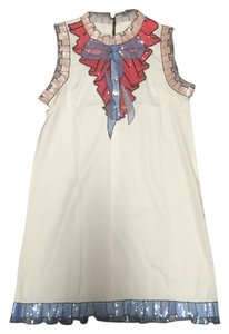 short dress White blue red on Tradesy