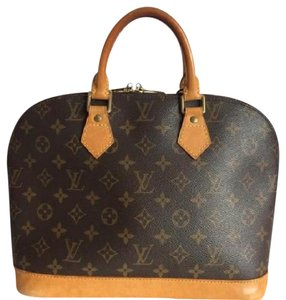 Louis Vuitton Alma Alma Pm Speedy Neverfull Tote in Brown