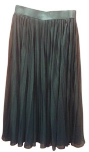 Carmen Marc Valvo Carmen Marc Valvo sheer pleated skirt