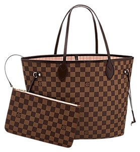 Louis Vuitton Neverfull Lv Mm Ebene Shoulder Bag