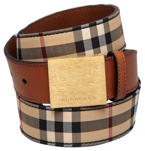 Burberry Lucius Check Belt