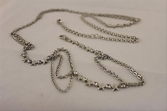 Other Women Silver Metal Ultra Thin Star Fashion Metal Chains Belt Beads