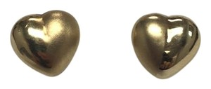 14k Heart Shaped Earrings