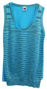 M Missoni Top Turquoise Multi
