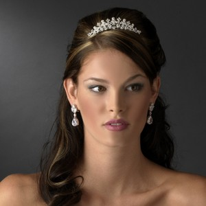 Adala Regal Rhinestone Wedding Bridal Tiara Comb