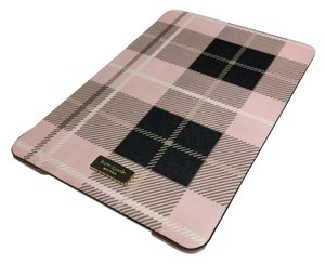 Kate Spade Kate Spade Woodland Plaid iPad Mini Case Folio WIRU0441 Pastry Pink
