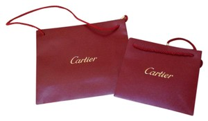 Cartier Authentic Small And Medium Bags