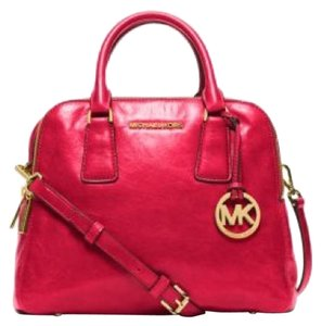 Michael Kors Satchel in DK Red