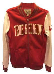 True Religion Red & White Jacket
