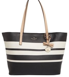Kate Spade Tote in Black/cement