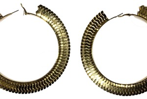 Other Gold Filled Large The Bronx Hoops