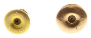 COLLECTORS ITEM (2) 10 karat yellow gold vintage buttons