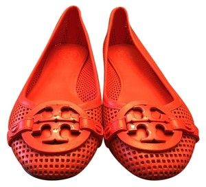 Tory Burch Red/Coral Flats