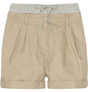 Paul & Joe Cuffed Shorts Olive