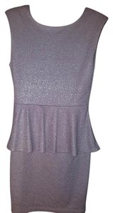 Bar III Peplum New Dress