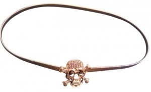 Other Goldtone Skull Stretch Disco Style Belt HOT NOW!! NEW
