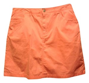Croft & Barrow Skort Skirt Peach