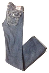 True Religion Swarvoski Crystals Bling Boot Cut Jeans